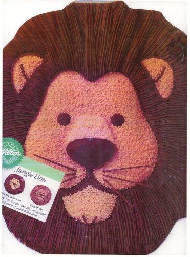 - Wilton Cake Pan: Jungle Lion (2105-2095, 1994)