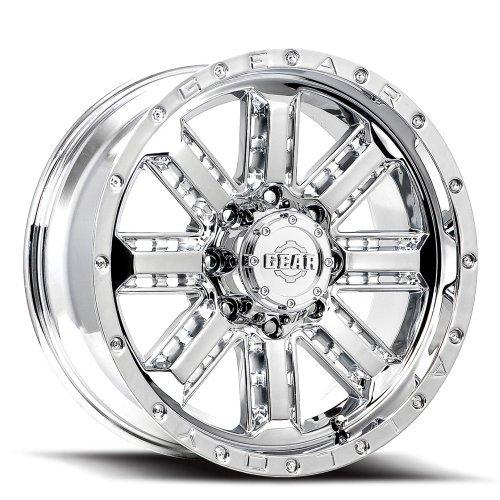 6 Chrome Wheels Rims Tires - 8