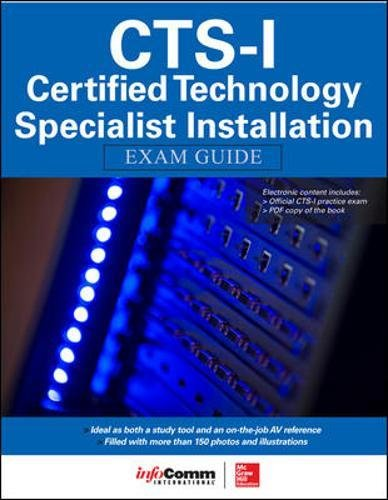 CTS-I Certified Technology Specialist-Installation Exam Guide by McGraw-Hill Education