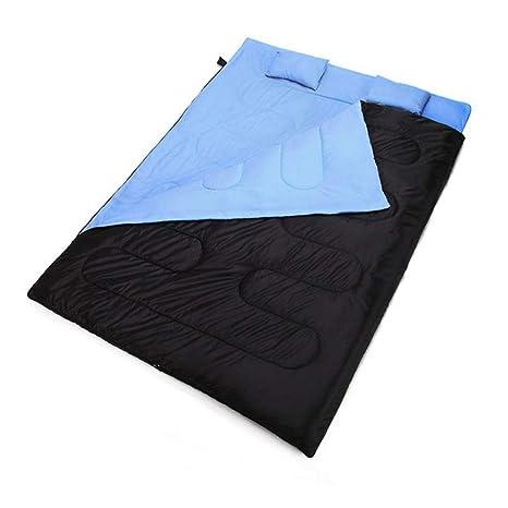 Saco de dormir de momia Saco de dormir doble con la almohada, sobre ligero portátil