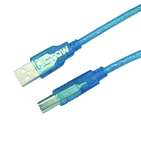 mctow USB Cable de impresora, 10 FT USB 2.0 conectores de alta ...