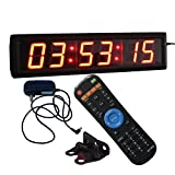 Ledgital Countdown Clock 2.3' High Character LED Countdown Clock w/Remote Control - Indoor Only