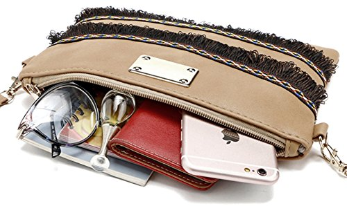 Keshi Niedlich Damen Handtaschen, Hobo-Bags, Schultertaschen, Beutel, Beuteltaschen, Trend-Bags, Velours, Veloursleder, Wildleder, Tasche Rot