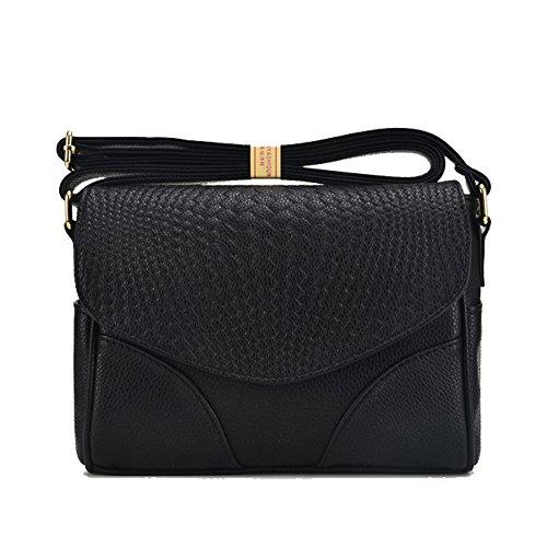 Sac Cross Messenger Womens Pocket Bag Sac Body Multi Black Main YUEHQI Casual De Voyage à vwqPE0