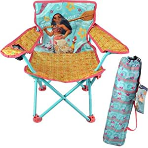 Amazon Com Disney Moana Fold N Go Chair Kitchen Amp Dining