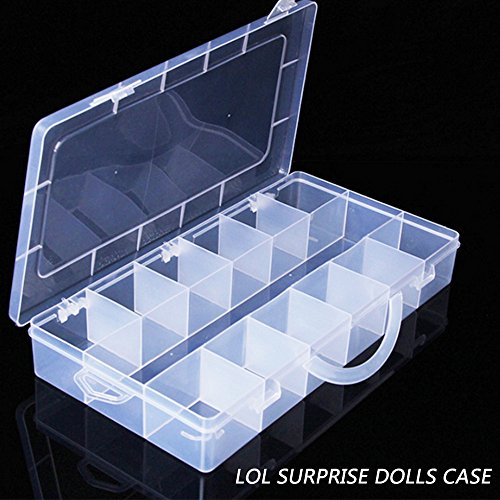 Baokee Surprised Dolls Storage Toy 18 Compartments Toy