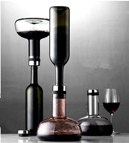 Qualit/ät Wein Dekanter Wein Luftsprudler Zarte bleifreiem Kristallglas Karaffe Bel/üften Dekanter
