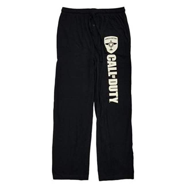 Black pajama bottoms