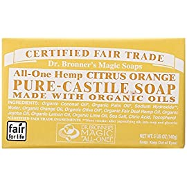 Dr. Bronners - Magic Pure-Castile Bar Soap Organic Citrus Orange - 5 oz. ScentName: Citrus (Baby/Babe/Infant - Little ones) by Dr. Bronner's 52 Dr. Bronners - Magic Pure-Castile Bar Soap Organic Citrus Orange - 5 oz. ScentName: Citrus (Baby/Babe/Infant - Little ones) by Dr. Bronner's ...