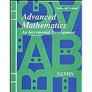 Advanced Mathematics: An Incremental Development [Solutions Manual]