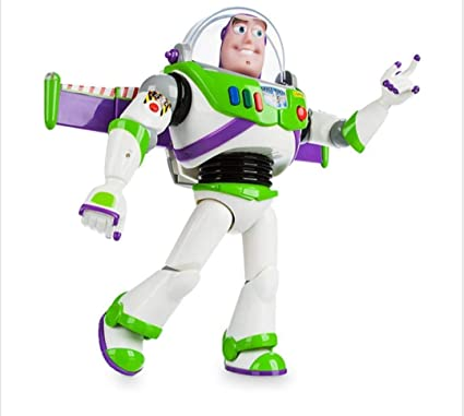 Disney Toy Story Power Up Buzz Lightyear Talking Action Figure by Toy Story 4cbcdf01cf5