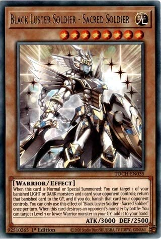 Yu-Gi-Oh Black Luster Soldier Envoy of the Evening Twilight Playset TOCH-EN033
