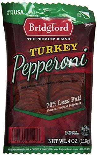 Bridgford-Turkey-Pepperoni-Sliced-4-Ounce-Package