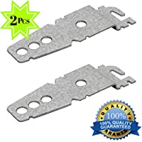 Universal Dishwasher Mounting Bracket - Installs Easily Under Counter - Glavanized Metal - Fits All Leading Dishwasher Brands