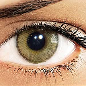 Solotica Natural Colors Cosmetic Contact Lenses Yearly Disposable - Ocre (Hazel)