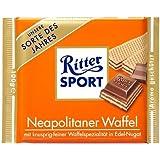 Ritter Sport Milk Chocolate with Neapolitan Wafer, 3.5oz Bar