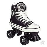 Pop Squad Midtown Girl's and Boy's Roller Skates - Black (7)