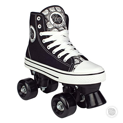 Pop Squad Midtown Girl's and Boy's Roller Skates - Black (1) ()