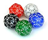 Set of Five 120-sided Dice