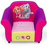 Nick Jr. PAW Patrol Skye & Everest Plastic Frame Upholstered Chair