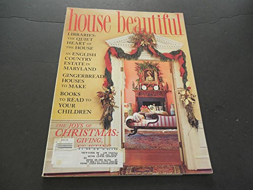 House Beautiful Dec 1983, English Country, Gingerbread Houses To Make
