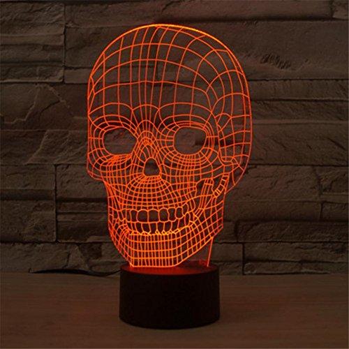 Skull (Halloween Lights)