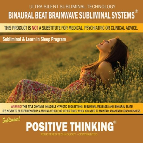 Positive Thinking Combination Subliminal Affirmations