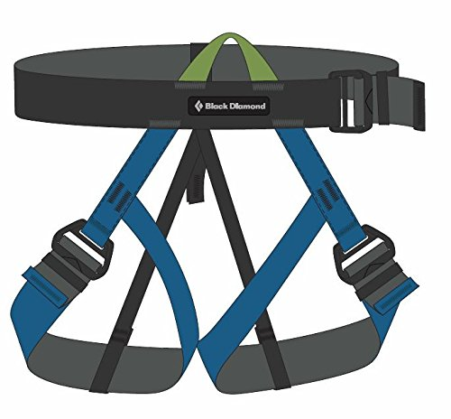 Black Diamond Vario Speed Climbing Harness - Kingfisher ()