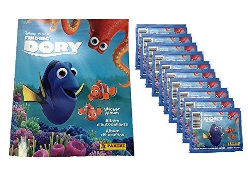 Panini Disney Pixar Finding Dory Sticker Album PLUS 10 Sticker Packs