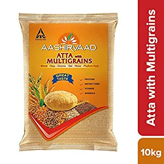 Aashirvaad Atta with Multigrains, 10kg 51zml46aQuL