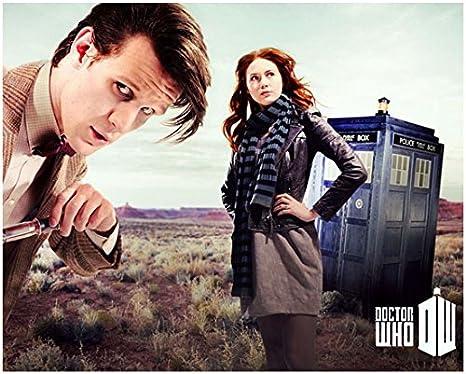 DOCTOR WHO TV Show PHOTO Print POSTER Art Matt Smith Amy Pond Karen Gillan 011