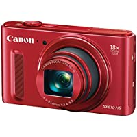 CANON 0113C001 20.0 Megapixel Powershot(R) SX610 HS Digital Camera (Red) electronic consumer Electronics