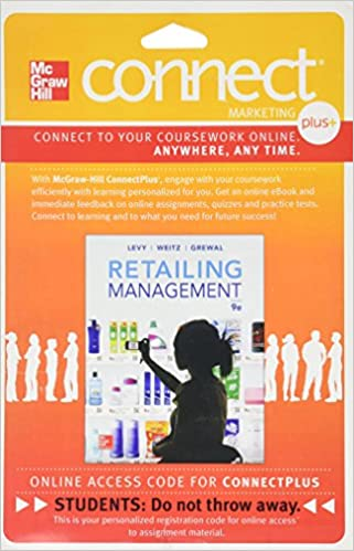 Amazon connect 1 semester access card for retailing connect 1 semester access card for retailing 9th edition fandeluxe Choice Image