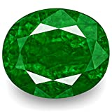 7.11-Carat Natural Emerald - 100% Unheated & Untreated, Mined in Zambia, Certified by GRS, Premium Loose Gemstone