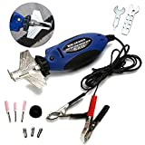 Moshbu 12V Handheld Chainsaw Sharpener Portable Electric Saw Filing Chain Saw Grinder for Garden Outdoor Grinding Machine Tool