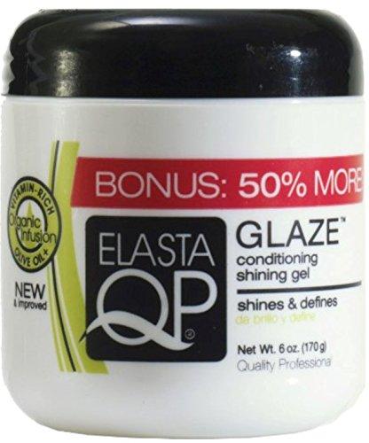 Elasta QP Glaze Conditioning Shining Gel, 6 oz (Pack of (Conditioning Glaze)