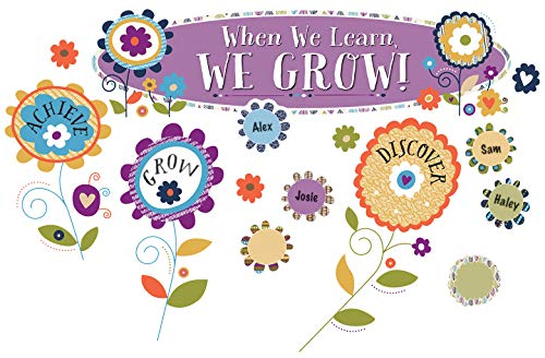 Carson Dellosa You-Nique When We Learn, We Grow! Mini Bulletin Board Set (110322) -