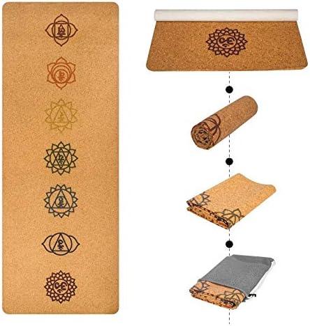 Yoga mat 厚いヨガマット厚いピラティスヨガピラティスエアロビクス強い構造快適なホームフィットネスマット workout