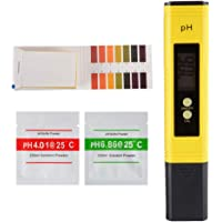 XCSOURCE Digital PH Meter Water Quality Tester with ATC and 0-14 PH Measurement Range Test Paper for Household Drinking, Pool and Aquarium TH926