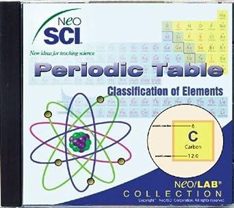 Amazon neosci the periodic table classification of elements neosci the periodic table classification of elements middle school neolab software urtaz Images