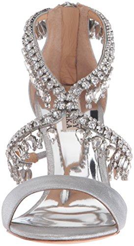 Badgley Mischka Femmes Grammy Ii Robe Sandale Argent