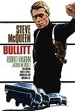 Bullitt Poster Movie Spanish 27 x 40 In - 69cm x 102cm Steve McQueen Robert Vaughn Jacqueline Bisset Don Gordon Robert Duvall Norman Fell