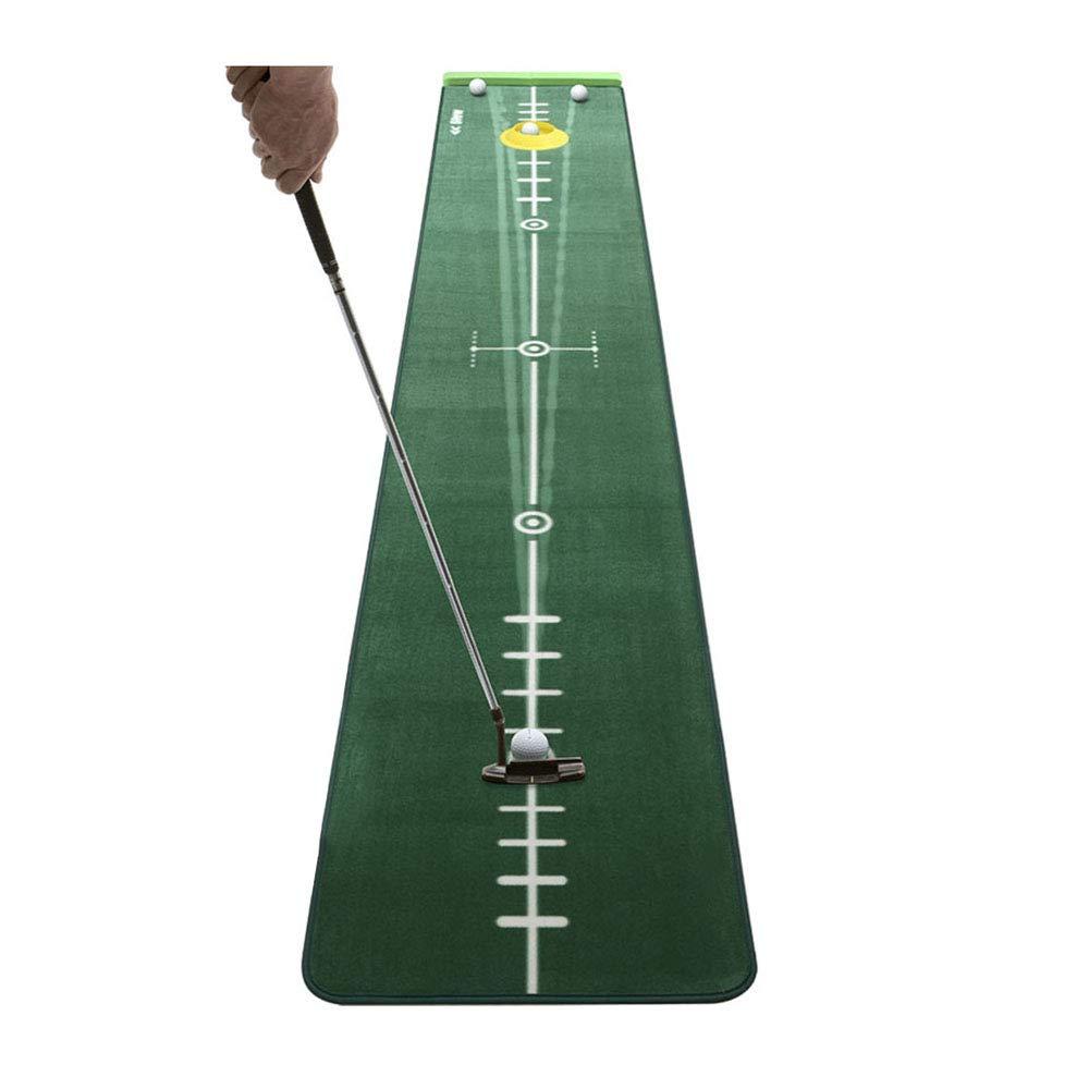 TESITEゴルフパッティング練習屋内練習ボールマットパーソナルトレーニングマット(300cm×50cm)   B07L1K4LF8