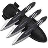 BladesUSA RC-595-3 Throwing Knife Set 5.5-Inch Overall