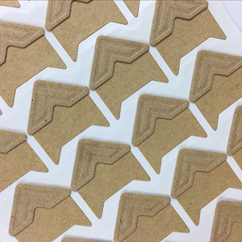 White 120pcs Self Adhesive Paper Photo Corner Stickers For Scrapbooking Personal Journal /& Diary Adhesives Photo book