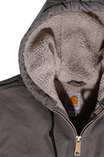 Tortora Carhartt Jacket Grigio Women Sandstone Winter qvrHPxvwI