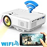 Best Mini Projectors - WiFi Mini Projector, 2019 Newest 1080P Supported, 2600 Review