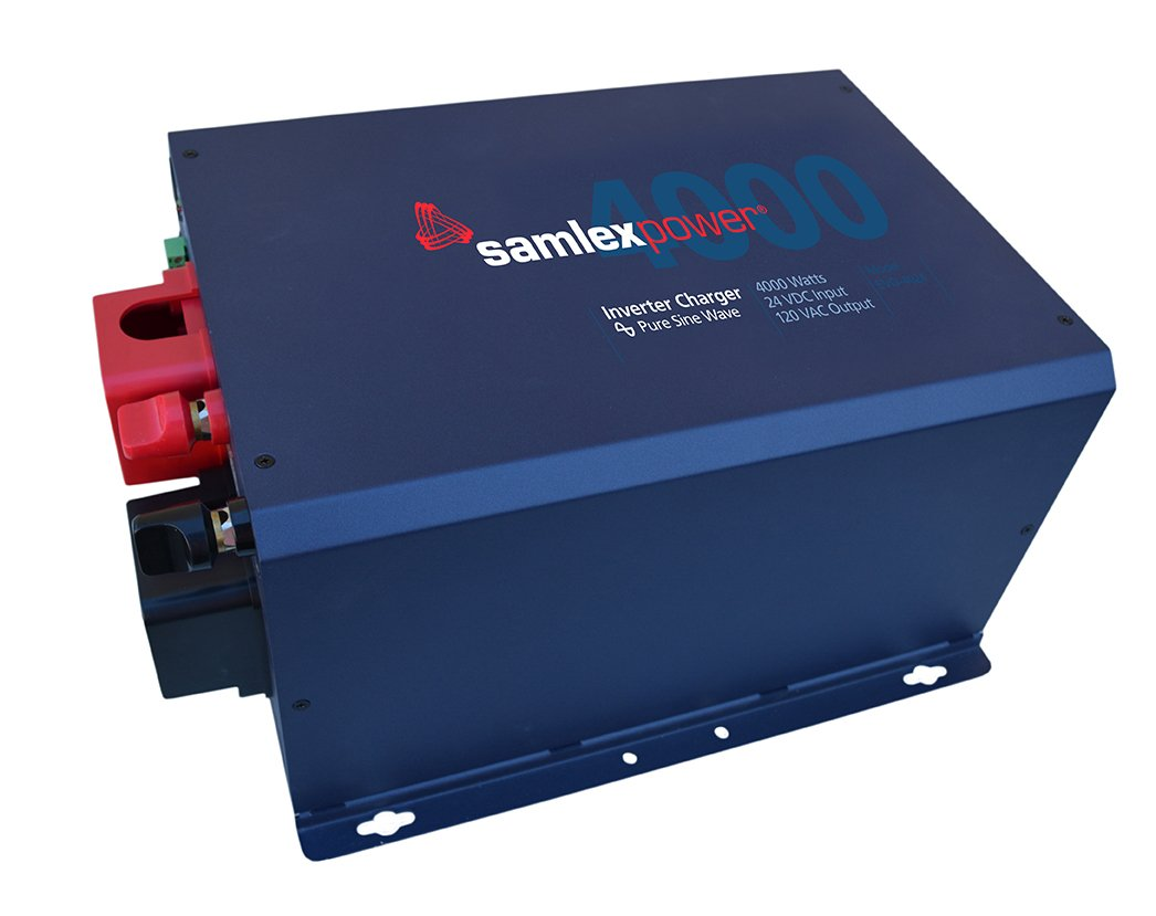 Samlex EVO-4024 DC to AC with Built-in Battery Charger by SAMLEX AMERICA