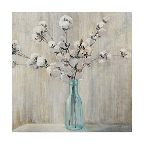 Trademark Fine Art Cotton Bouquet in Bottle by Julia Purinton Fine Art, 14