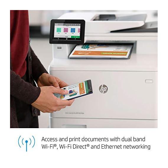 HP Color LaserJet Pro MFP M479fdw A4 Multifunction Wireless Printer (W1A80A)